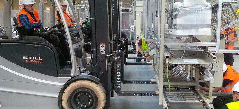 Relokacja maszyn, urządzeń oraz całych linii produkcyjnych
